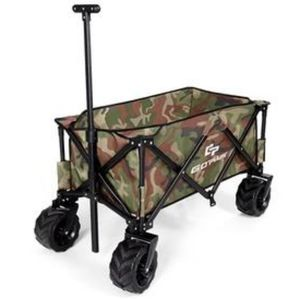 COLLAPSIBLE FOLDING ROLLING UTILITY WAGON